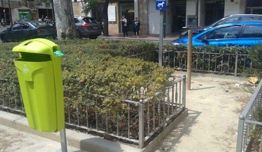 ¿Para qué sirven las papeleras verdes que hay en Valencia?