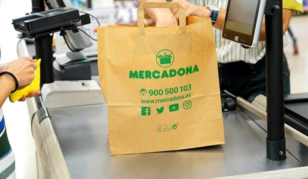 Mercadona dice adiós a las bolsas de plástico