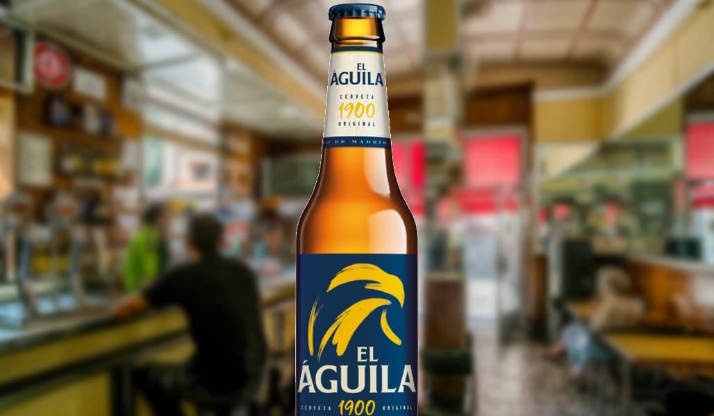 Vuelve la mítica cerveza «El Águila»