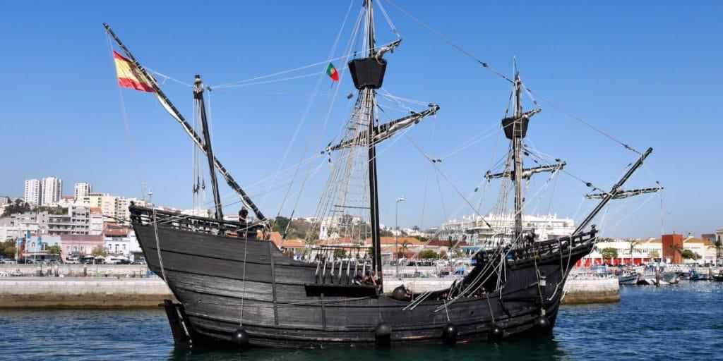 La Nao Victoria atraca en la Marina de Valencia