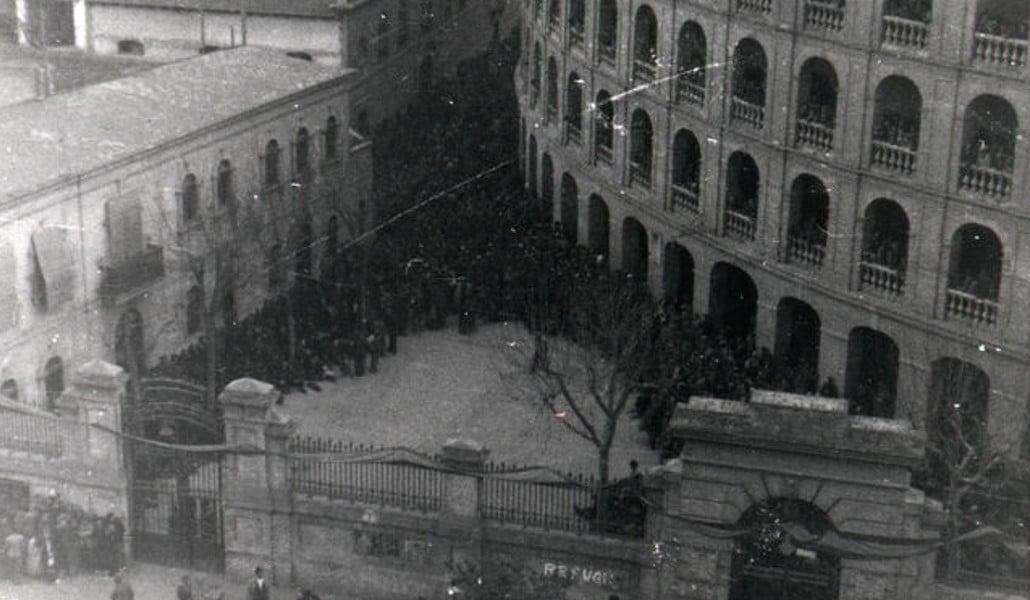 La plaza de toros de Valencia fue un campo de concentración