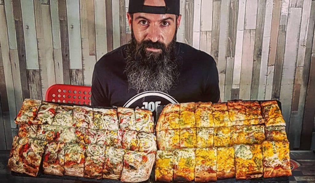 Joe Burgerchallenge rey comida gigante Valencia
