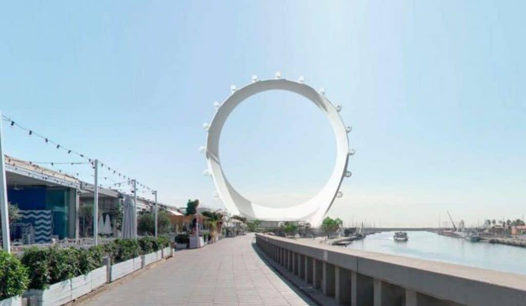 circular view valencia