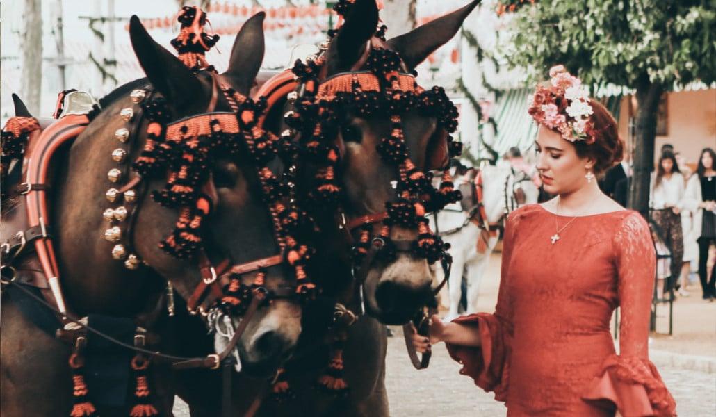 Valencia celebra la Feria de Abril en Palau Alameda