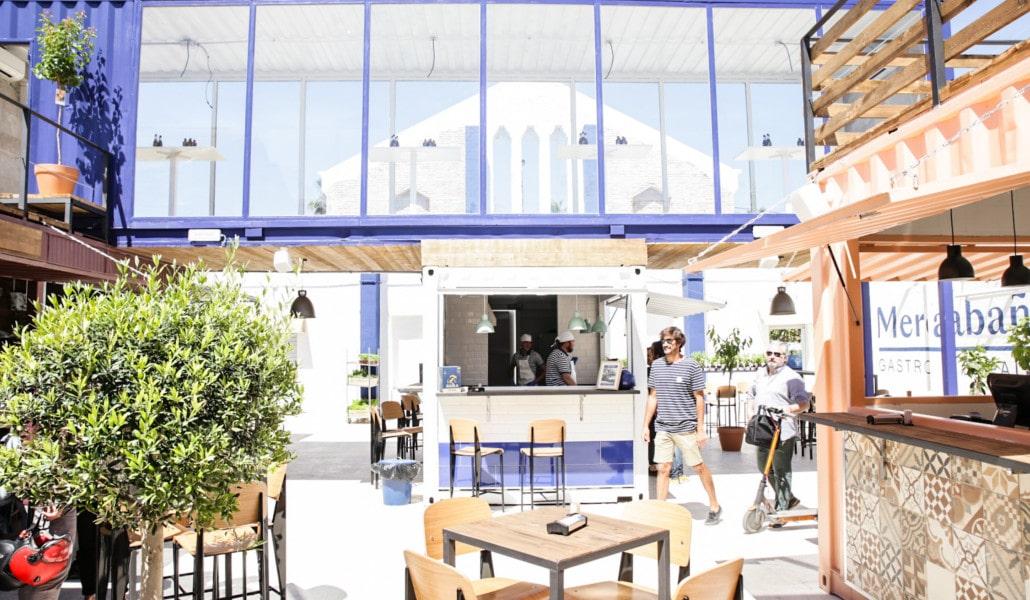 Mercabañal: un mercado gastronómico frente a la playa del Cabanyal