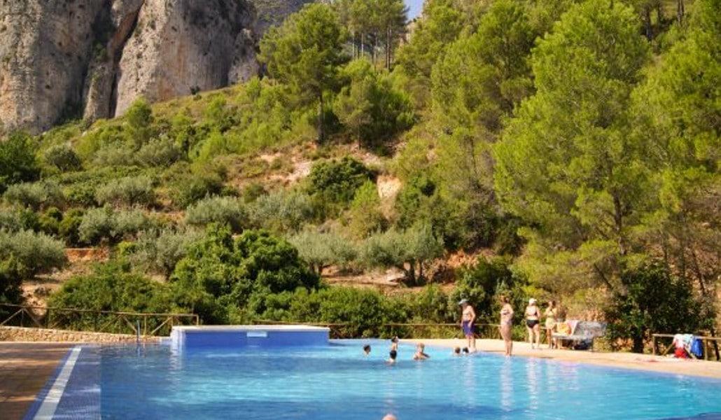 piscina natural vallada