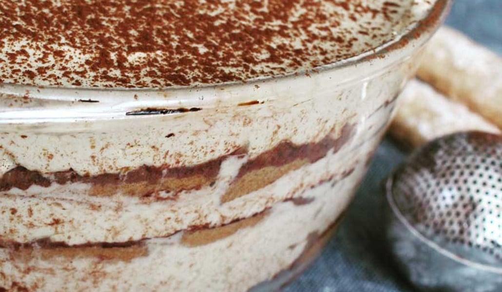 cake project tiramisu vegano