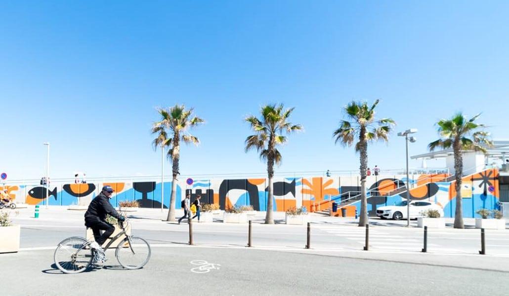La Marina de Valencia se llena de arte urbano