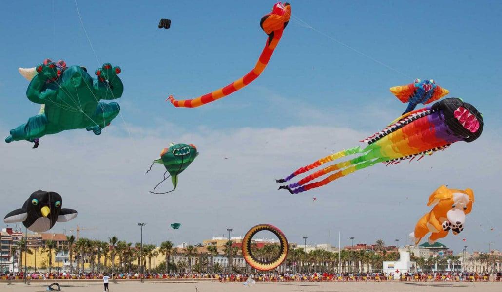 Festival de Cometas de Valencia: un espectáculo en la playa del Cabanyal