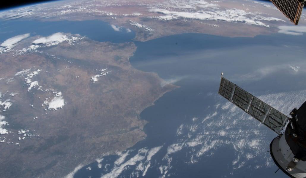 Así se ve Valencia desde el espacio