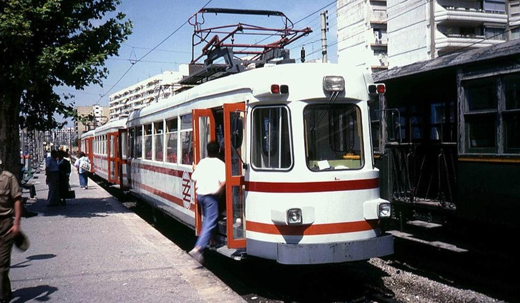 Así era el mítico 'trenet' de Valencia