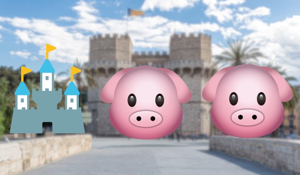 Descubre Valencia con emojis