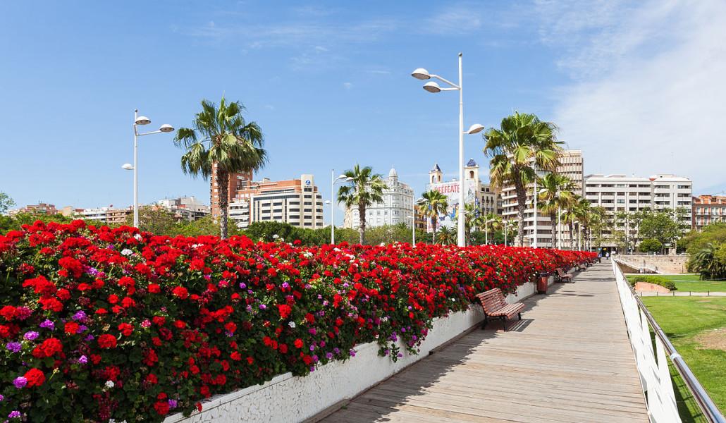 Puente de las Flores: el más bonito de Valencia