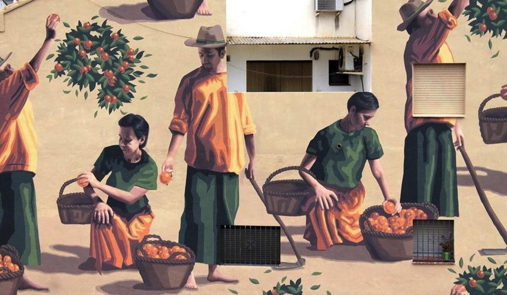 Fanzara: el pueblo valenciano del arte urbano