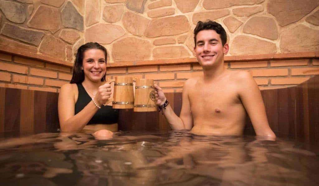 Beer Spa: báñate en cerveza sin salir de la Comunitat