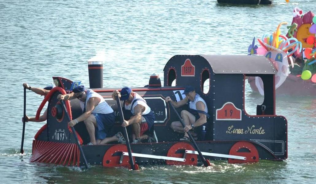 Barcos locos: la regata más divertida de Valencia