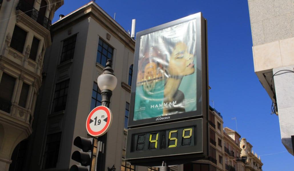La ola de calor que llega: temperaturas de hasta 45 grados en Valencia