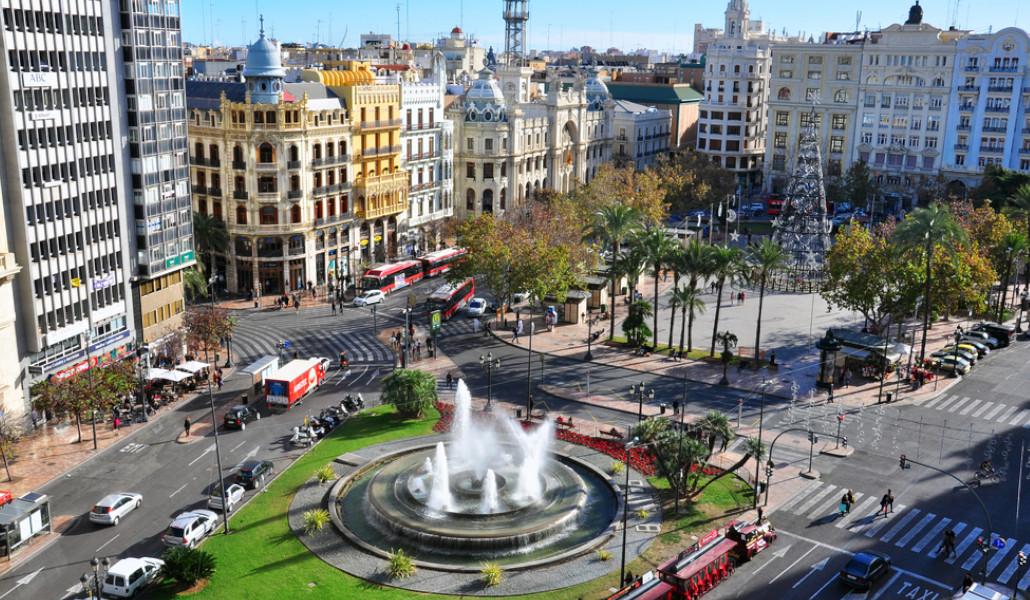 Valencia adelanta la peatonalización de la Plaza del Ayuntamiento al 14 de marzo