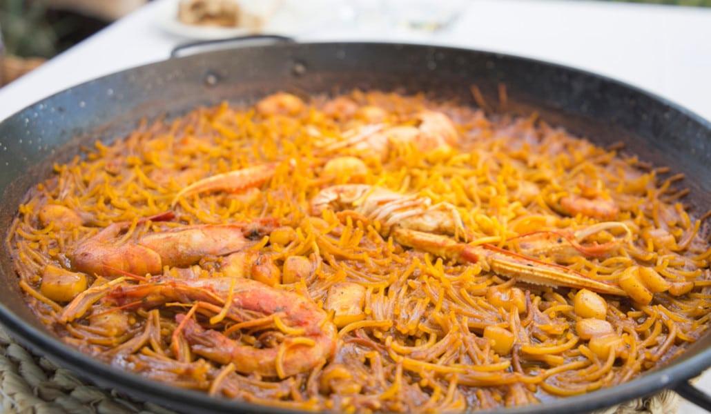 Fideuà: otro tesoro de la gastronomía valenciana