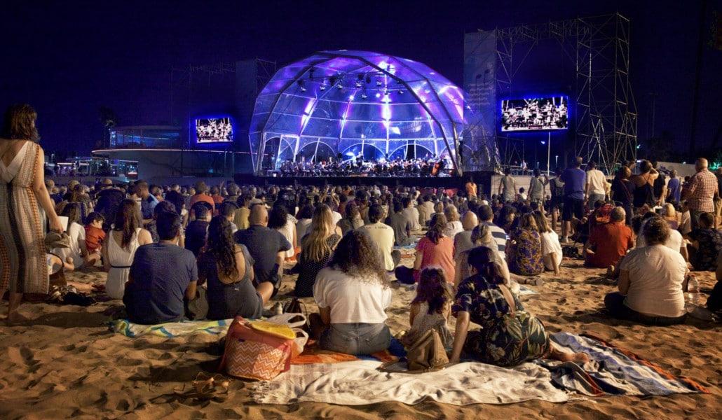 Música a la mar: conciertos gratuitos en la playa de El Cabanyal