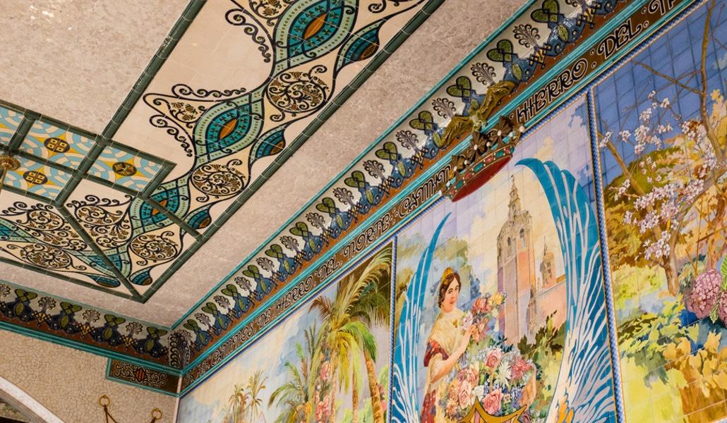 Estación del Norte Valencia Sala Mosaicos