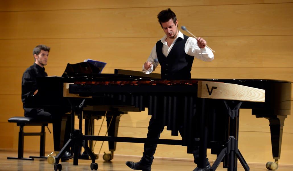 Concierto de marimba y piano en Convent Carmen