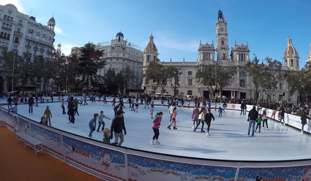 pista hielo valencia 2019