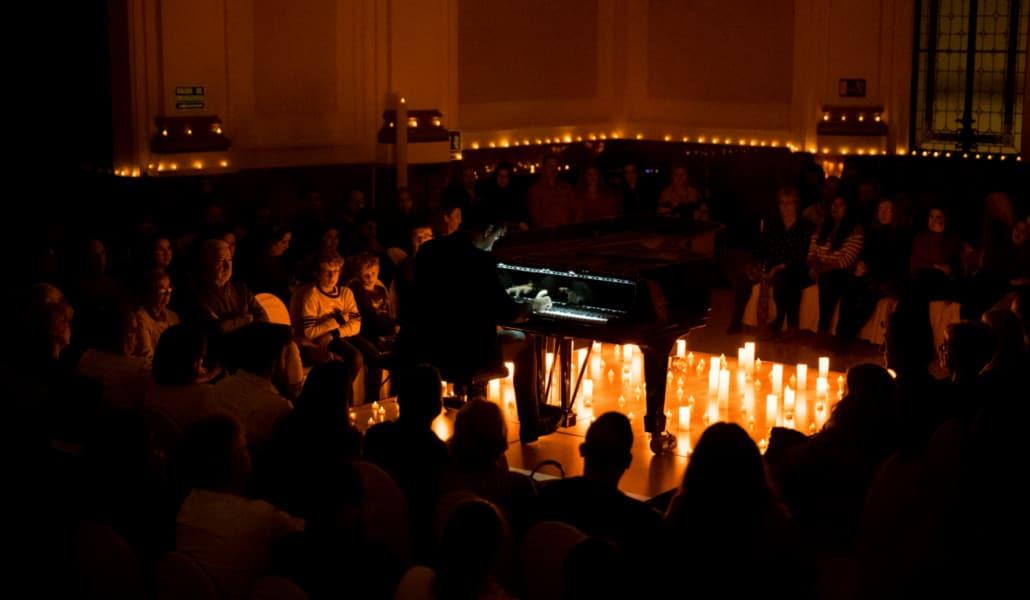 Candlelight Chopin: concierto de piano en La Beneficencia de Valencia