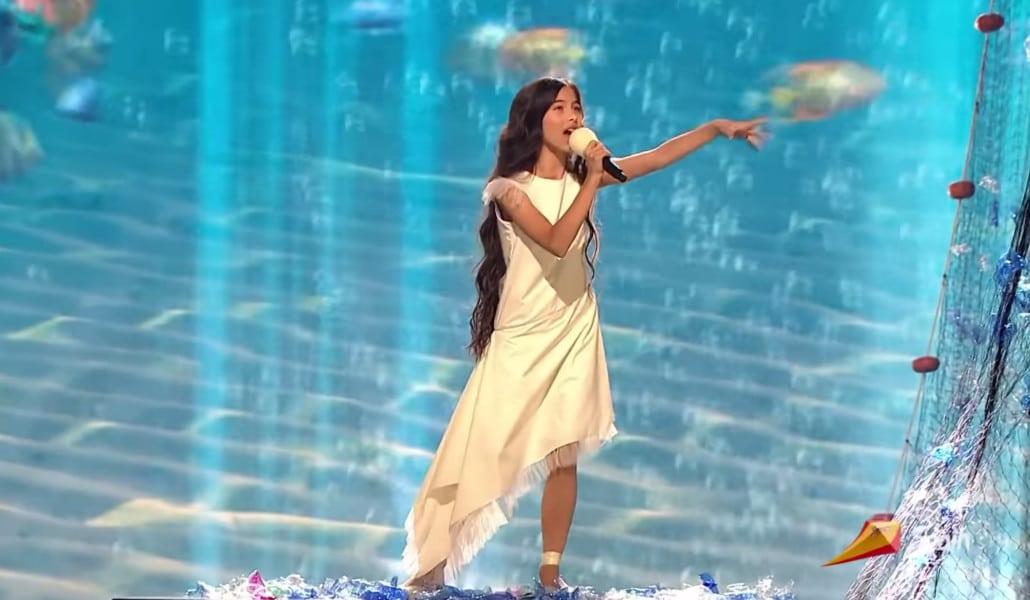 La valenciana Melani queda tercera en Eurovisión Junior