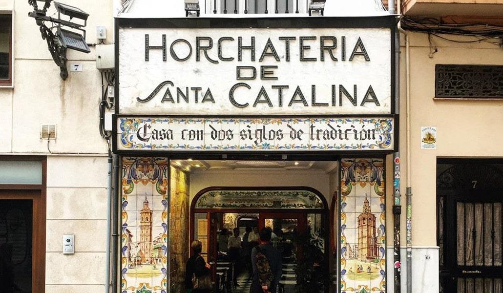 Horchatería Santa Catalina: un clásico del centro de Valencia