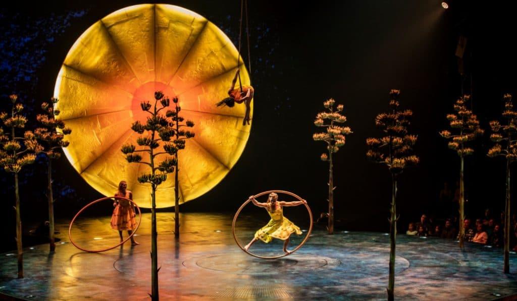 El Circo del Sol estrenará en Valencia uno de sus últimos espectáculos