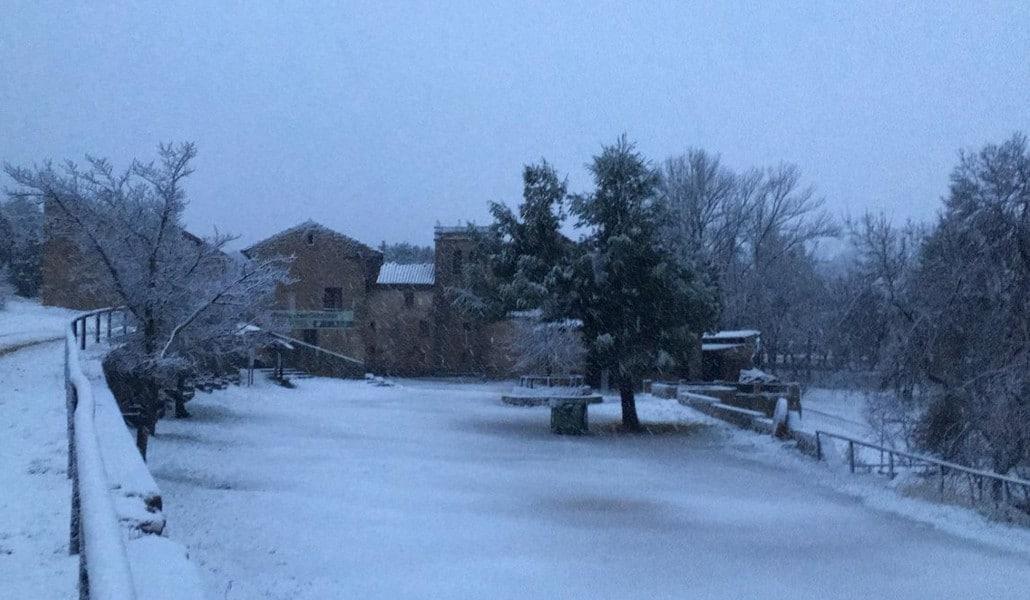 La nieve llega a la Comunidad Valenciana