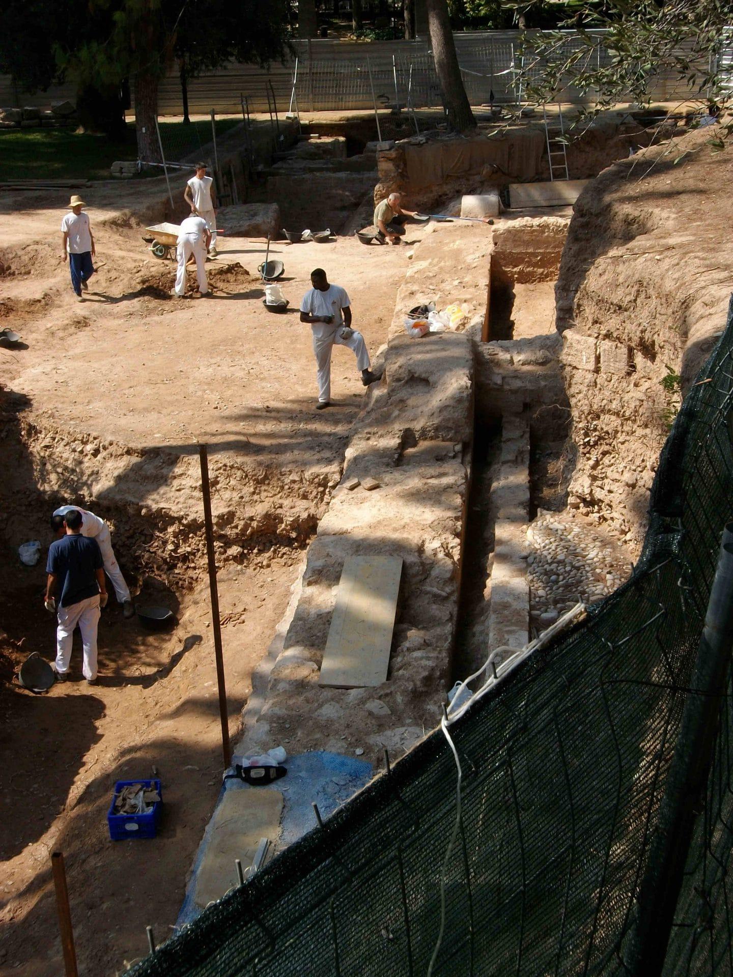 Excavacion palacio rela valencia