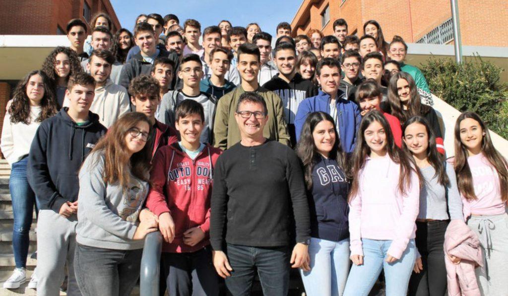 El mejor profesor de secundaria de España es valenciano