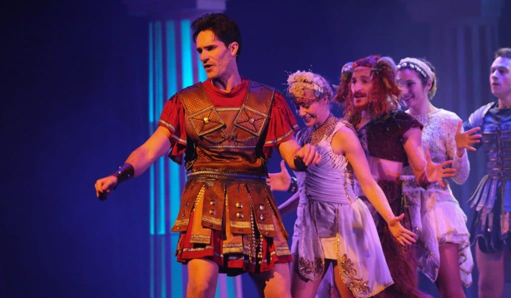'Hércules: el musical de los dioses' llega a Valencia