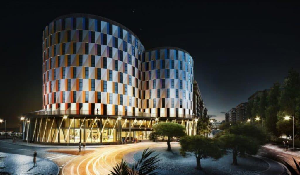 Así será el hotel más grande de Valencia
