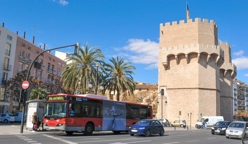 7 días de transporte en Fallas por 7 euros