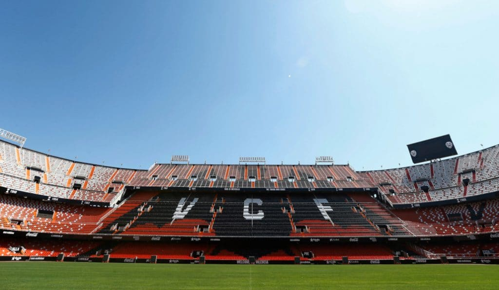 El Valencia C.F. y Valencia Basket jugarán a puerta cerrada por el coronavirus