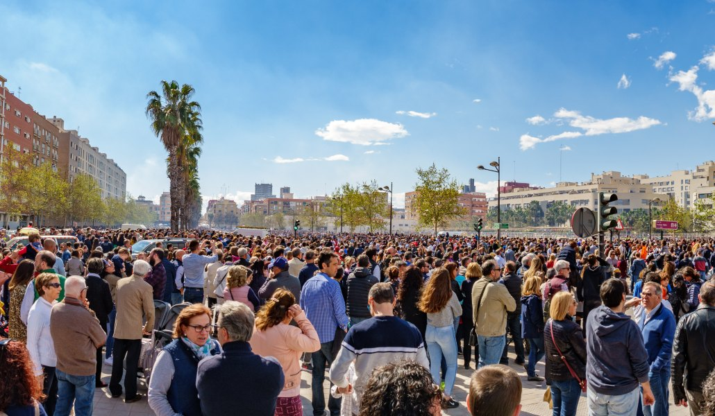 La mascletá más grande de las Fallas vuelve a Valencia