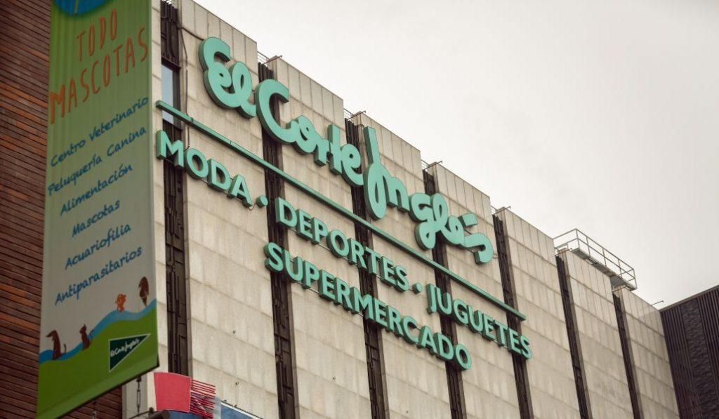 El Corte Inglés abrirá este domingo en Valencia