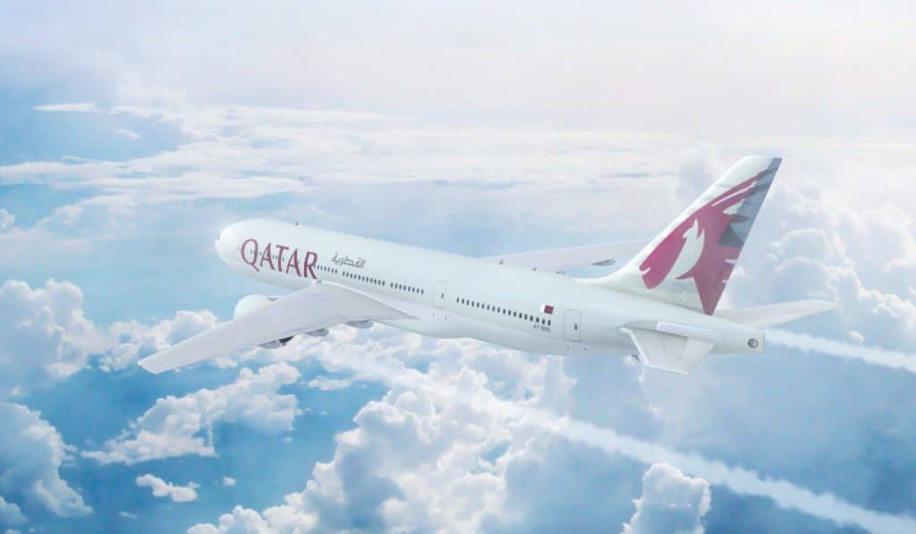 qatar airways sanitarios