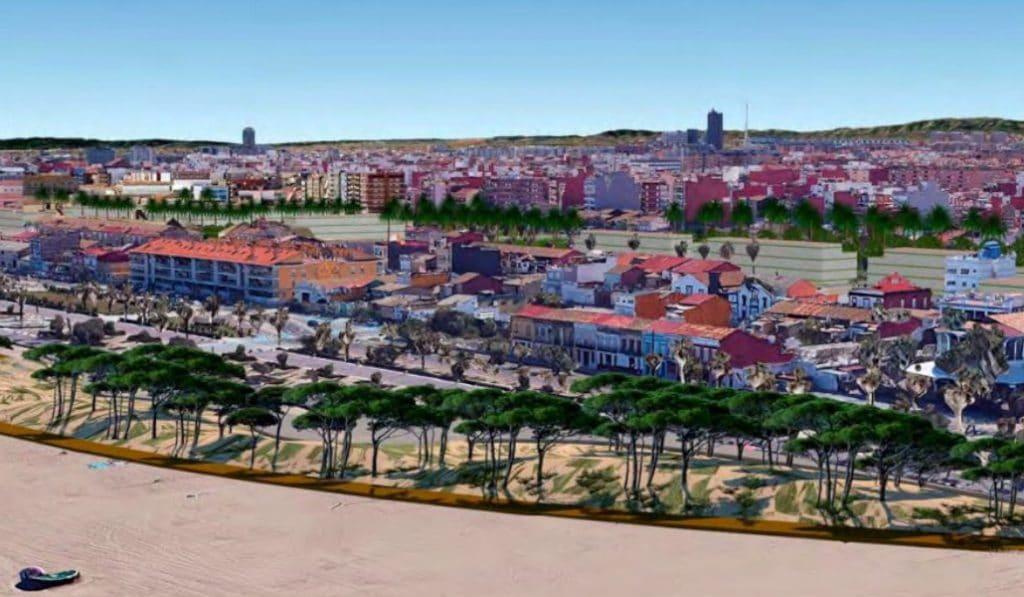 Así será el nuevo paseo marítimo de Valencia