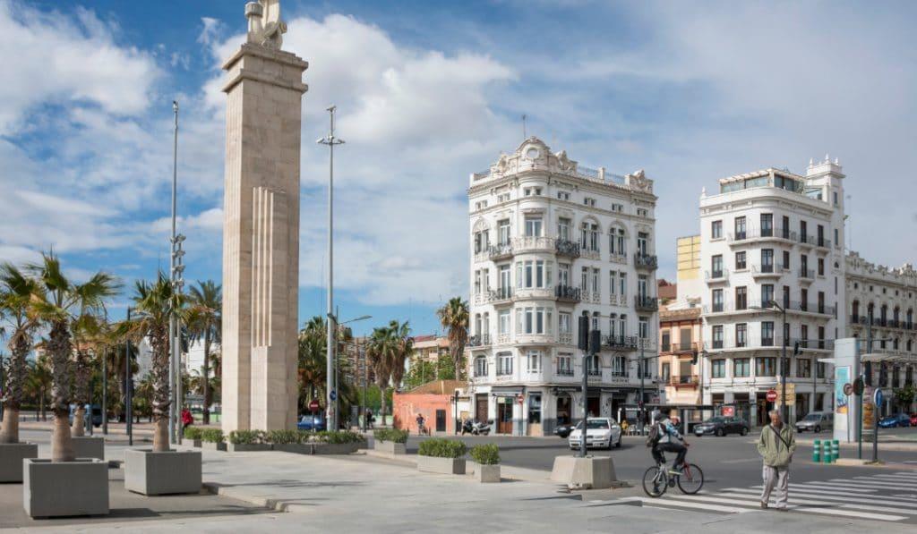 Valencia peatonalizará parte de la avenida del Puerto