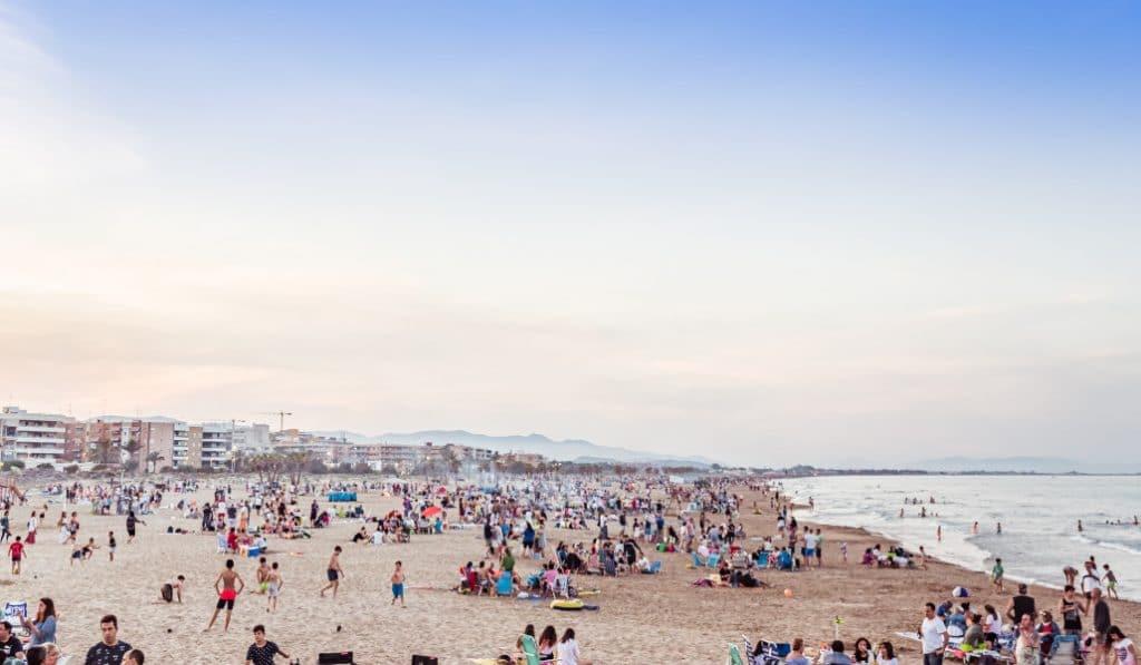 Valencia cierra esta tarde sus playas por San Juan