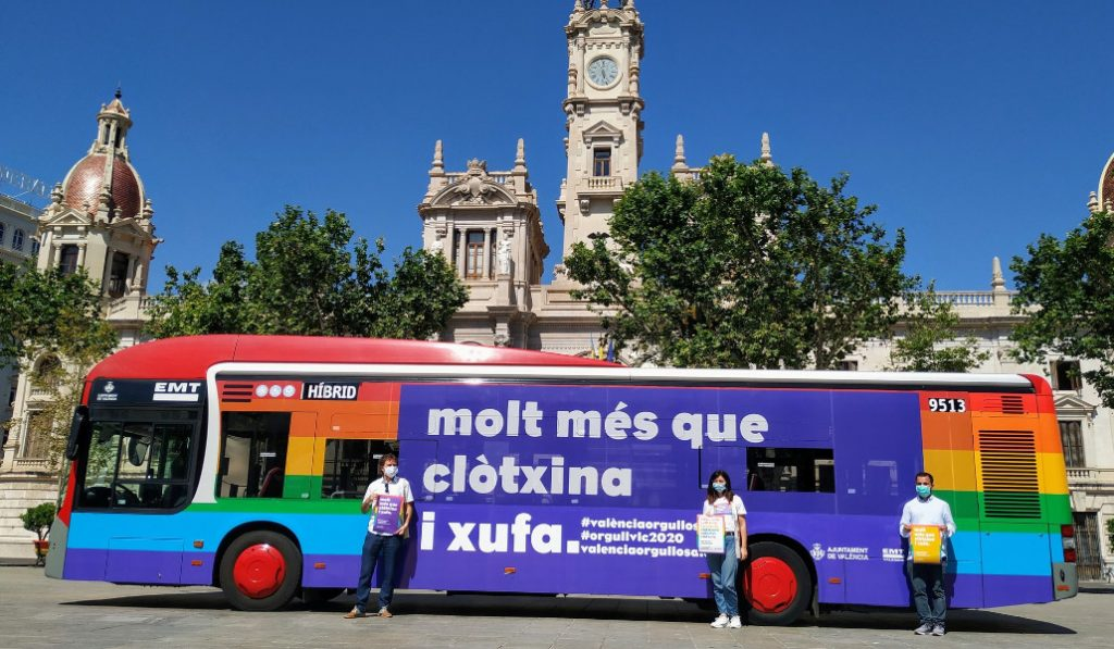 Así celebrará Valencia el Orgullo 2020