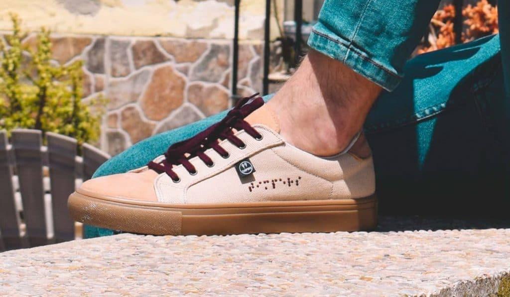 Timpers: las zapatillas valencianas diseñadas por ciegos