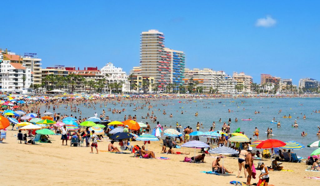 Conoce la ocupación de las playas de la Comunitat Valenciana en tiempo real