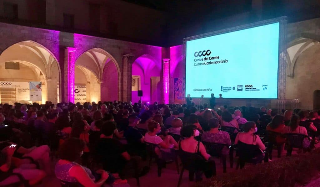 Cine de verano gratuito y al aire libre en el centro de Valencia
