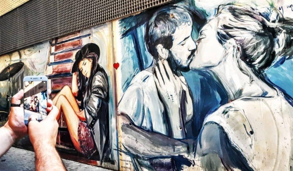 La calle de los colores: la más bonita de Valencia