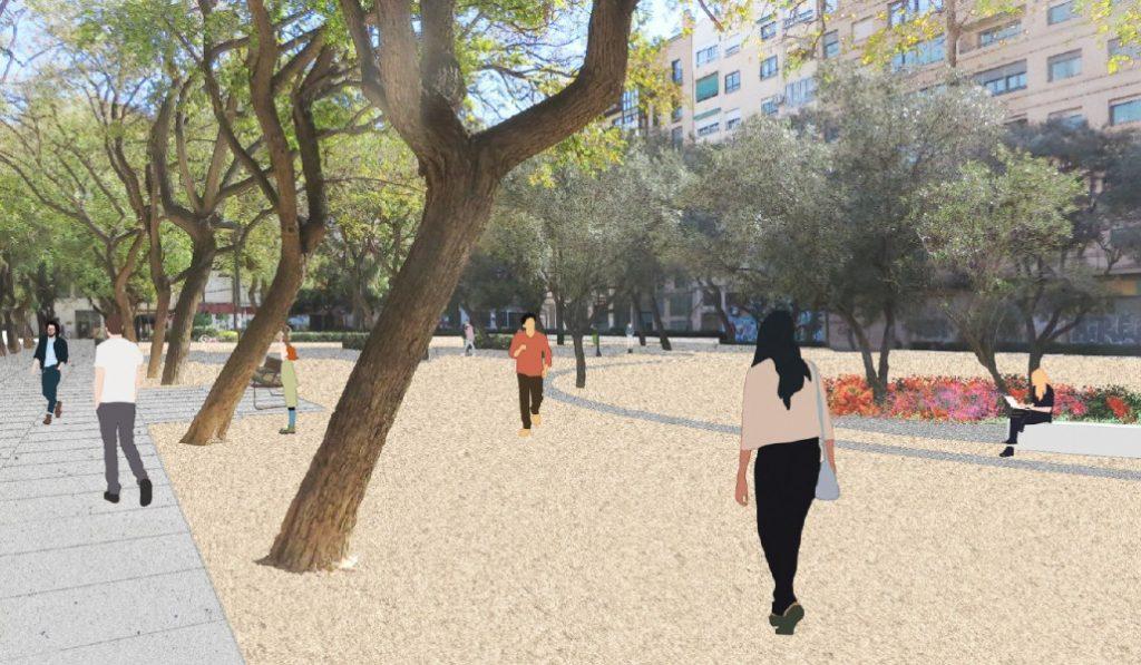 Ruzafa tendrá un «nuevo» parque